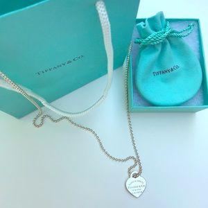 Tiffany & Co Silver return to Tiffany necklace